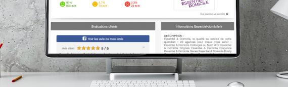 1000ème avis vérifiés sur Essentiel & Domicile : 97.7% des clients satisfaits ou très satisfaits de l'enseigne
